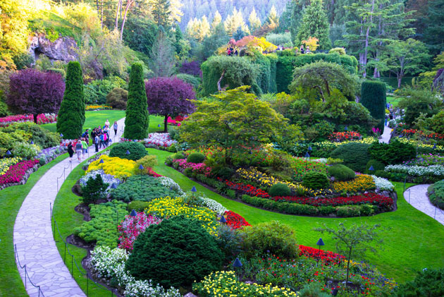 Tour trip for the best and beautiful places to visit - Best time to visit butchart gardens ...