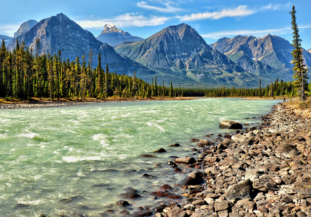 Glacial River by Jeff Clow