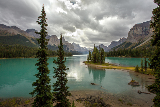 Jasper National Park, Maligne Lake - Spirit Island by Roy Goldsberry