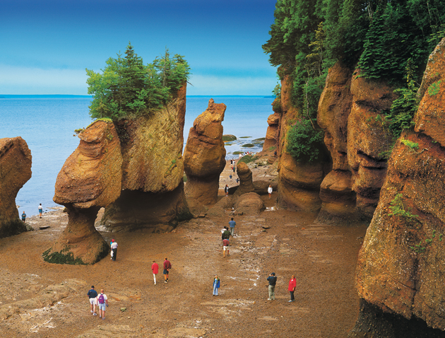 New Brunswick -  Nova Scotia - Bay of Fundy