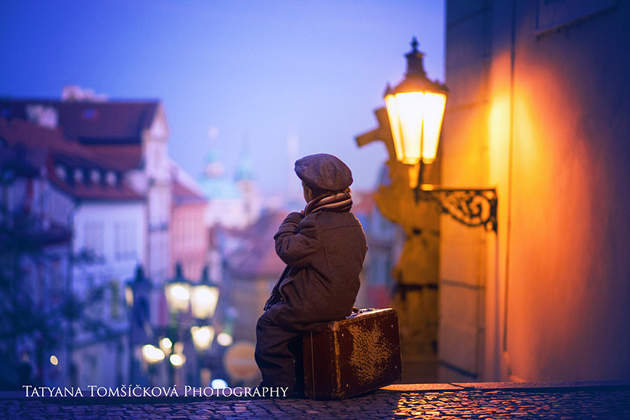 Prague view by Tatyana Tomsickova