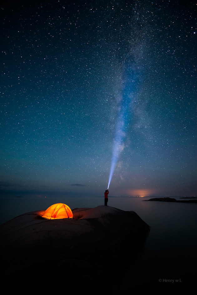 Shooting the Stars by Henry Liu