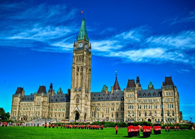 The Changing of the Guard Ceremony,Parliament Hill,Ottawa by siddhartha dutta