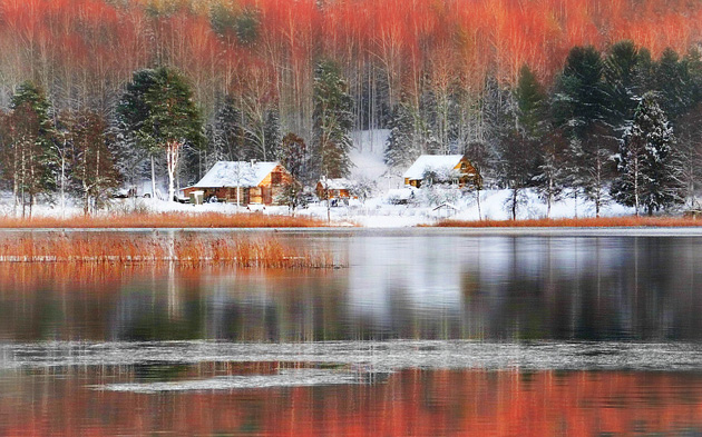 The colours of Lithuania winter by REgiNA