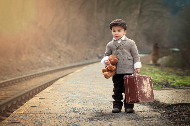 The little traveler by Tatyana Tomsickova