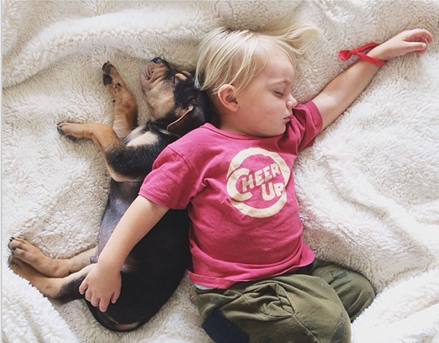 Cute Photography of a Toddler with Puppy (13)