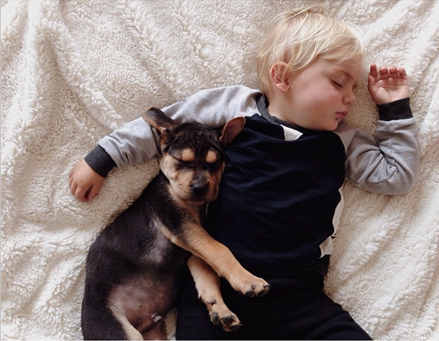 Cute Photography of a Toddler with Puppy (14)