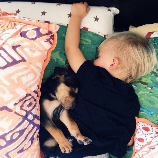 Cute Photography of a Toddler with Puppy (6)