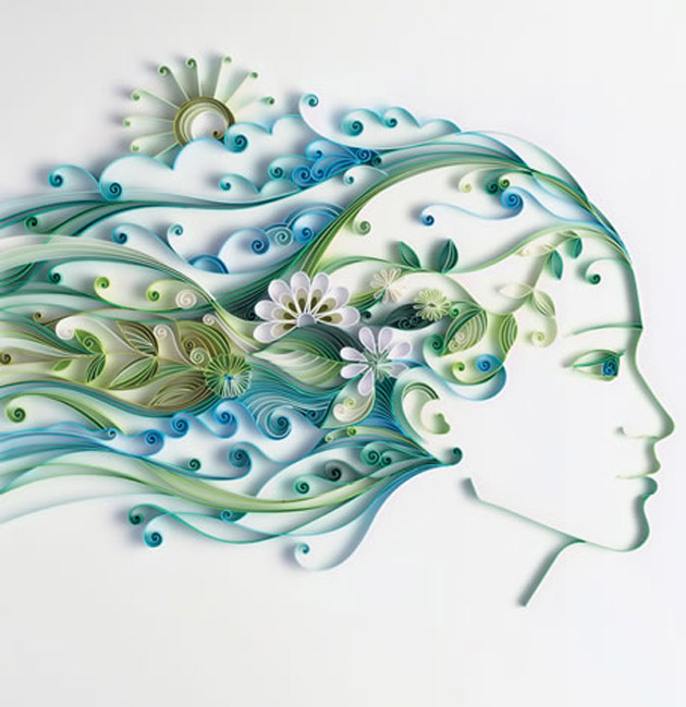 Paper Artwork with Blow your Mind by Yulia Brodskaya (2)