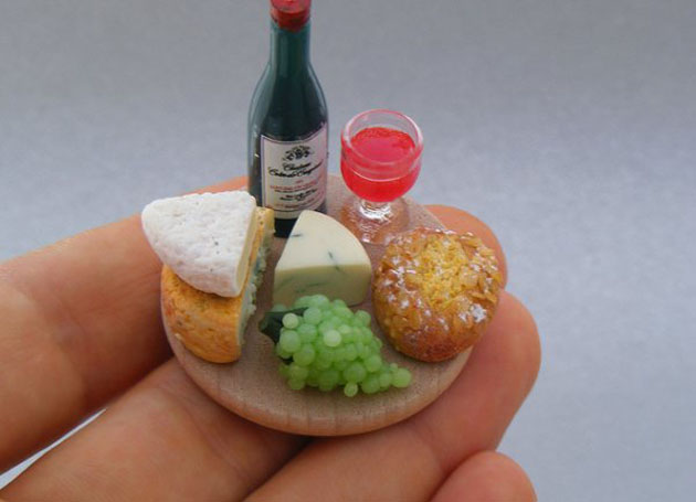 Awesome Miniature Food Sculptures by Shay Aron (1)