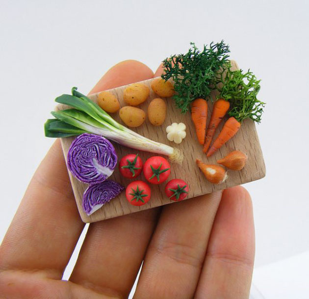 Awesome Miniature Food Sculptures by Shay Aron (12)