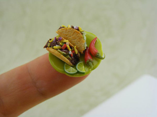 Awesome Miniature Food Sculptures by Shay Aron (13)