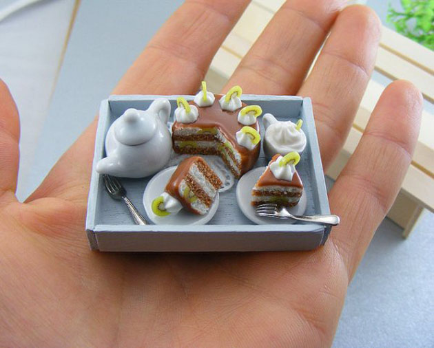 Awesome Miniature Food Sculptures by Shay Aron (3)