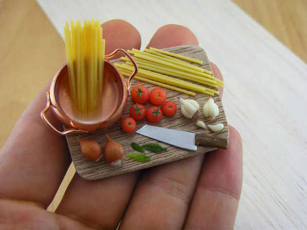 Awesome Miniature Food Sculptures by Shay Aron (6)