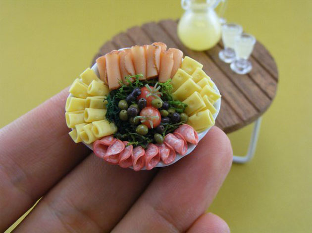 Awesome Miniature Food Sculptures by Shay Aron (9)