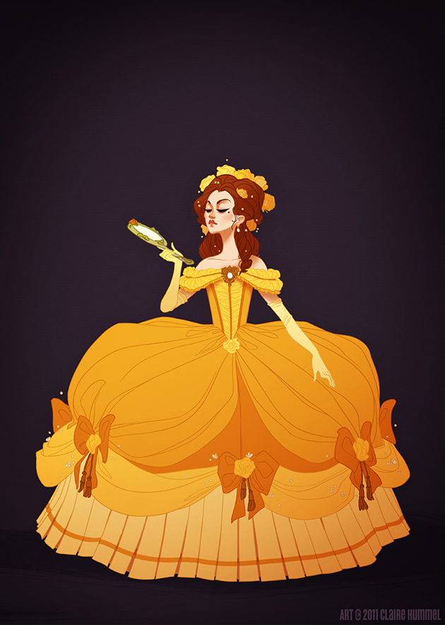 Beautiful Disney Princess by Claire Hummel (12)