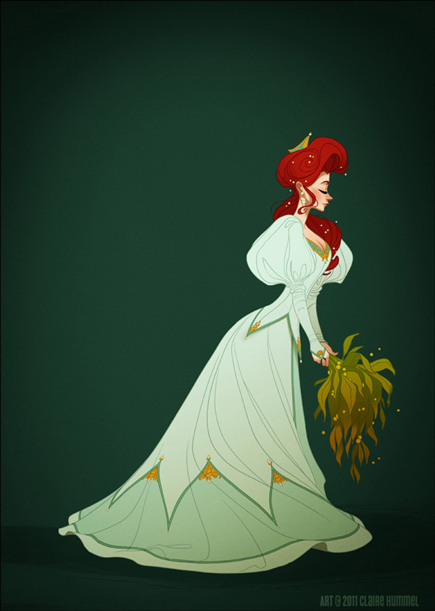 Beautiful Disney Princess by Claire Hummel (13)