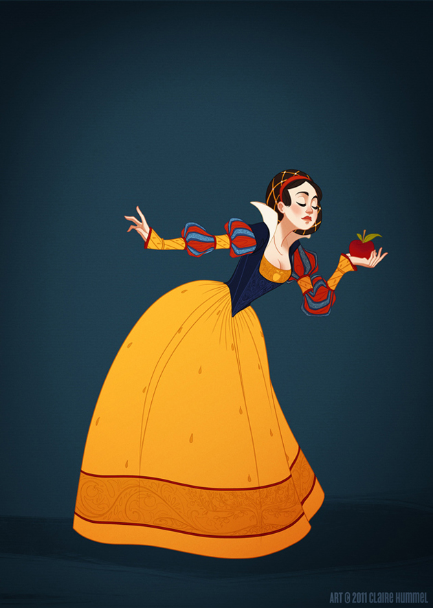 Beautiful Disney Princess by Claire Hummel (14)