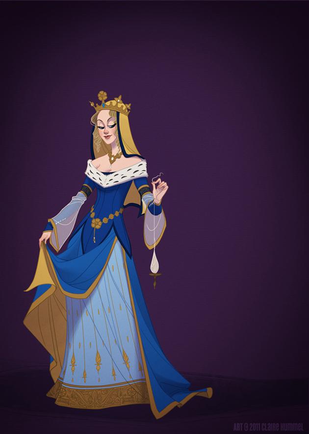 Beautiful Disney Princess by Claire Hummel (4)