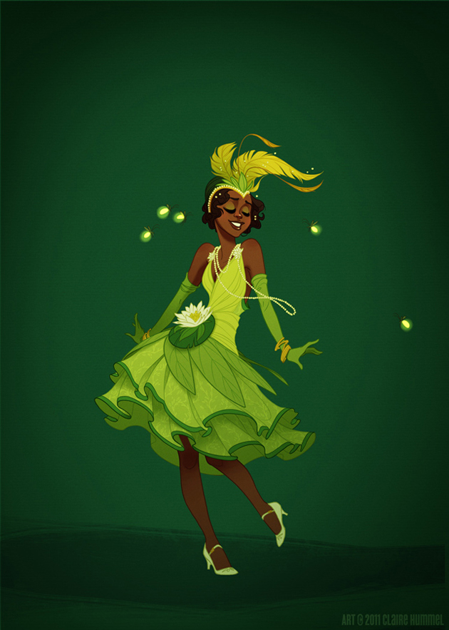 Beautiful Disney Princess by Claire Hummel (6)