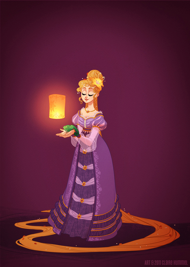 Beautiful Disney Princess by Claire Hummel (7)