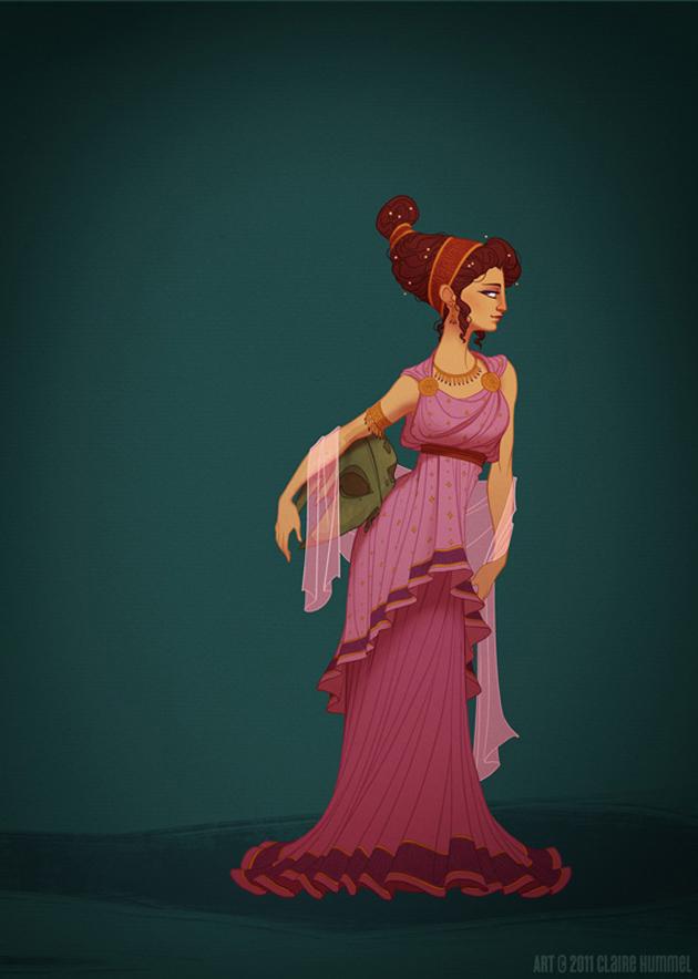 Beautiful Disney Princess by Claire Hummel (8)