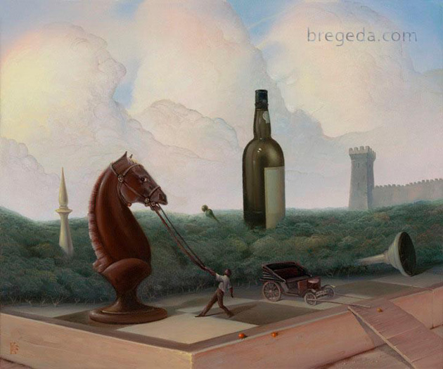 Creative Surreal Paintings by Victor Bregeda (2)