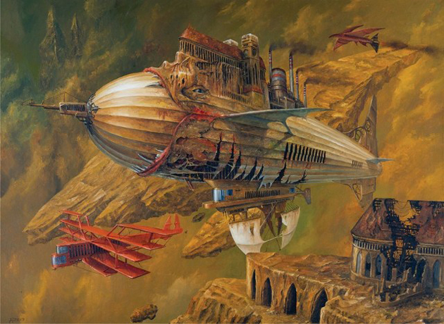 Extraordinary Paintings of Travel Vehicles by Jaroslaw Jasnikowski (11)