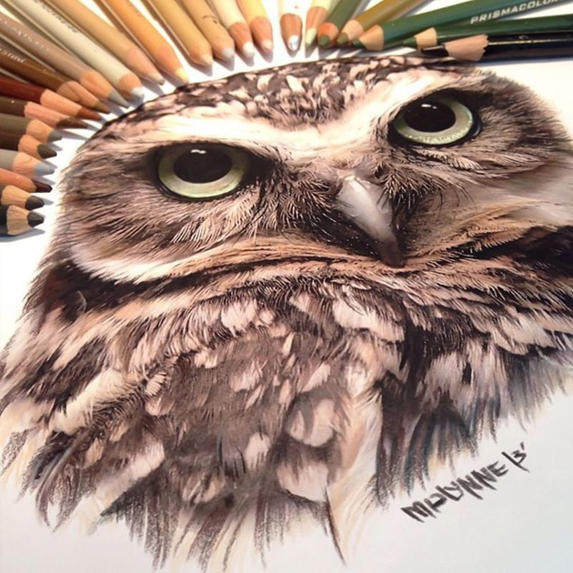 Pencil Drawing by Karle Miayline (6)