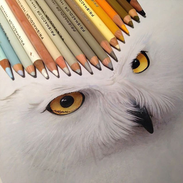 Pencil Drawing by Karle Miayline (7)