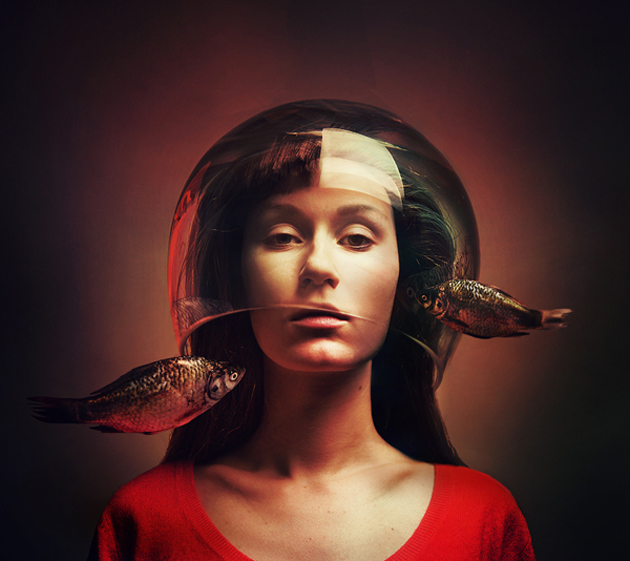 Surreal Self-Portraits By Flora Borsi (14)