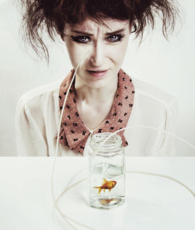 Surreal Self-Portraits By Flora Borsi (2)