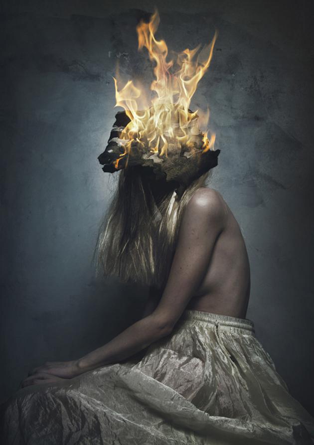 Surreal Self-Portraits By Flora Borsi (3)