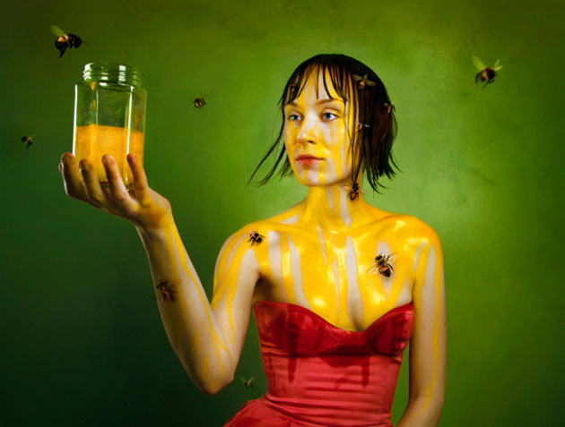 Surreal Self-Portraits By Flora Borsi (6)