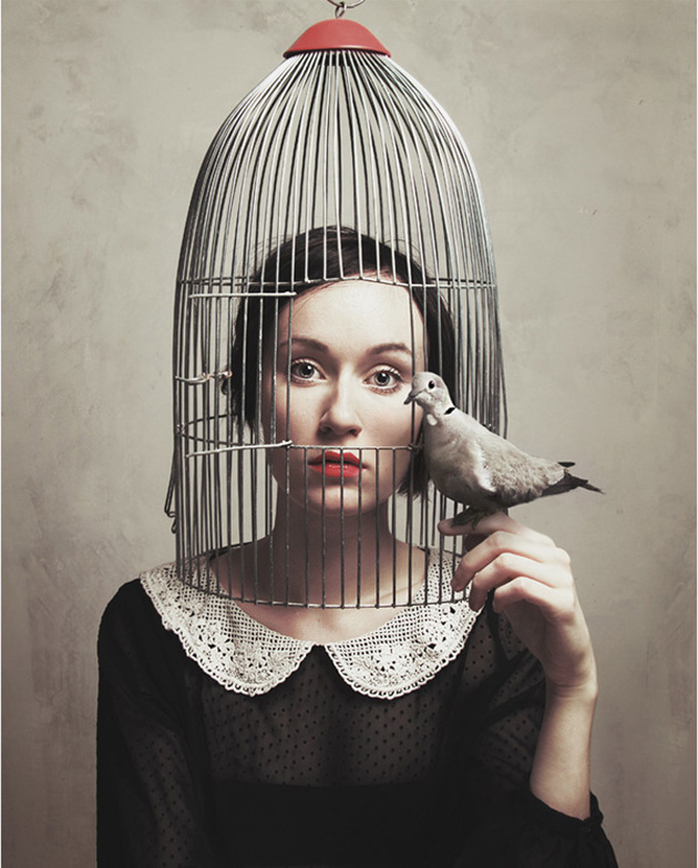 Surreal Self-Portraits By Flora Borsi (7)
