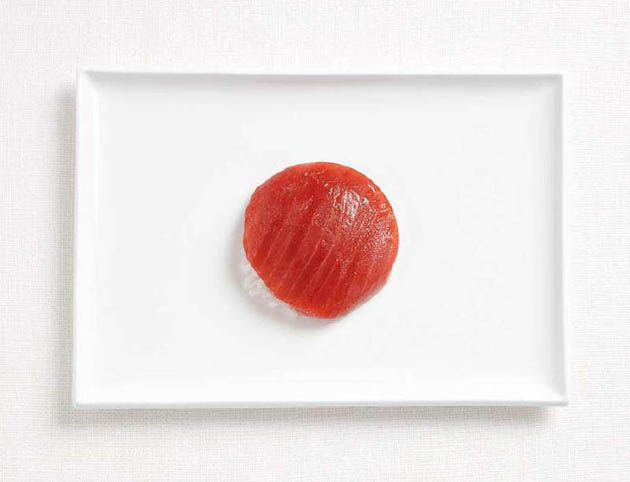 japan-amazing art of creating national flags with food items