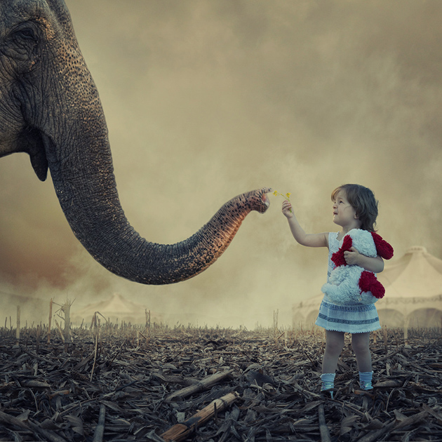 Creative Photographic design on Child Photography (5)