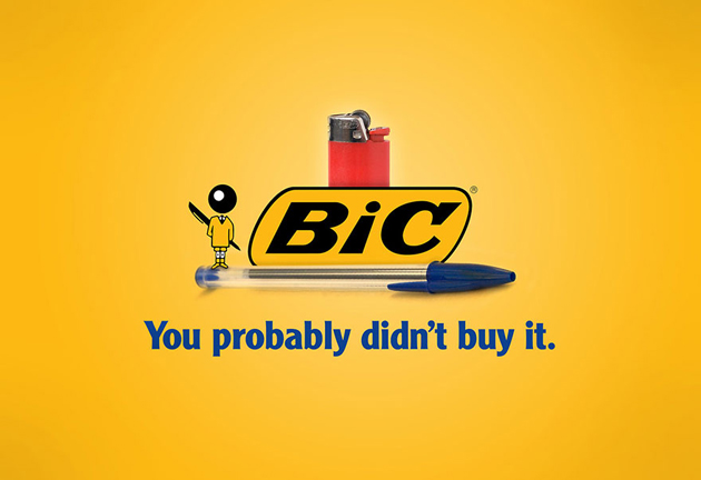 BIC- You Probably didnot buy it