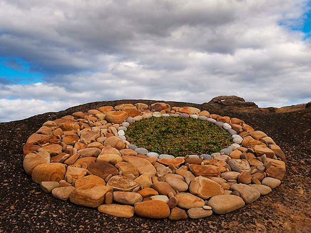 Beautiful Land Art by Voorworld (1)