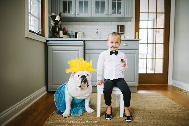 Beautiful Photos of a Little Girl and Her English Bulldog (9)