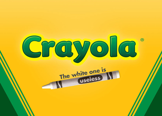Crayola - the white one is useless