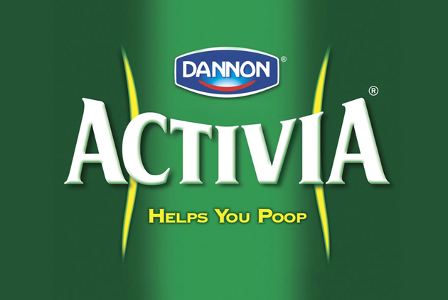 Dannon Activa - helps you poop
