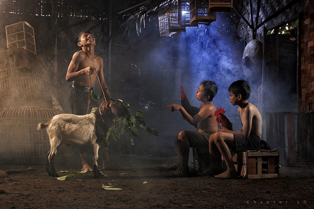 Day by Day life Of Village People in Indonesia by Herman Damar -Greatinspire (13)