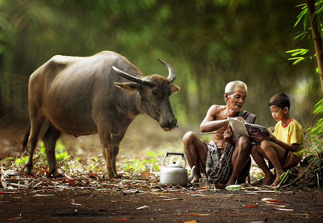 Day by Day life Of Village People in Indonesia by Herman Damar -Greatinspire (17)