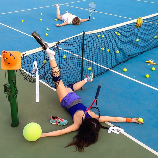 Hilarious Photo Series - Funny Photos of People Posing As If They Have Just Fallen Down (9)