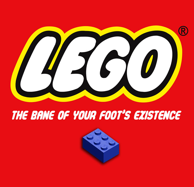 Lego-the bane of your foots existence
