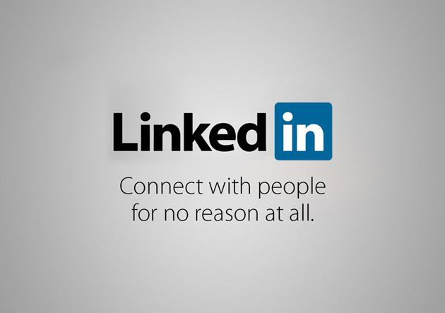 Linked in - Connect with people for no reason at all