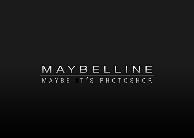 Maybelline - Maybe it'sphotoshop