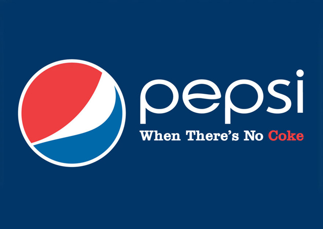 PEPSI - When there's no Coke
