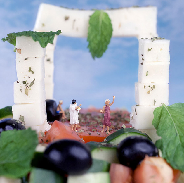 Tiny People's Big Adventures in a World of Food by William Kass-greatinspire (14)